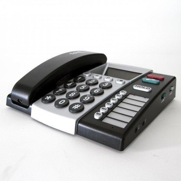 hulpmiddelen; telefoon slechthorenden